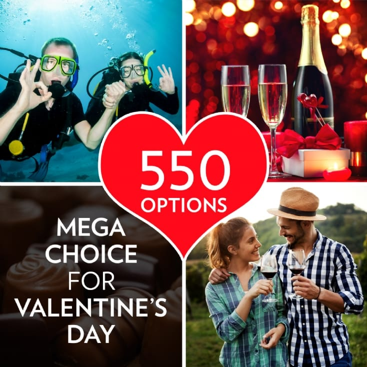 Experience Mega Choice for Valentine's Day