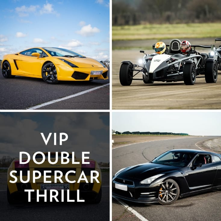 VIP Double Supercar Thrill