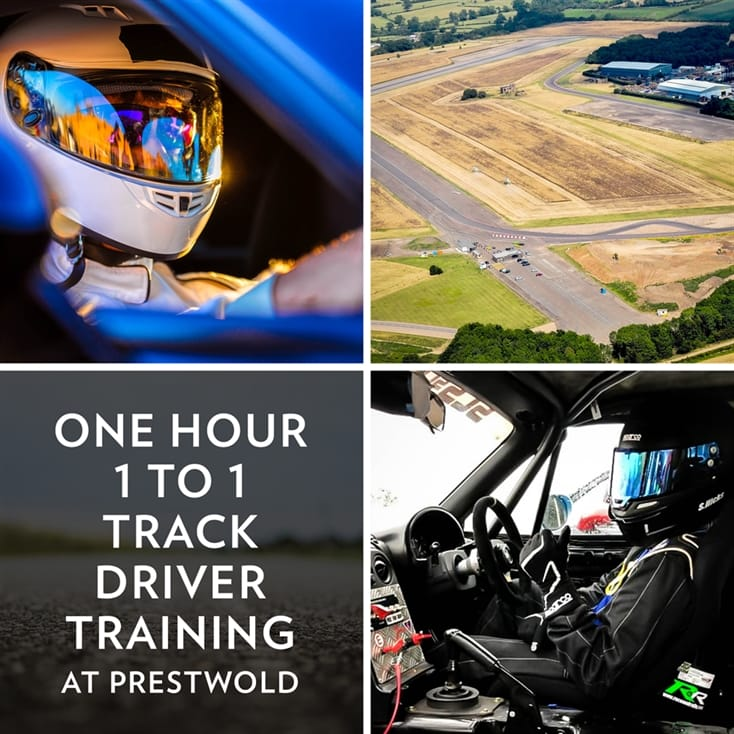One Hour 1 to 1 Track Driver Training at Prestwold