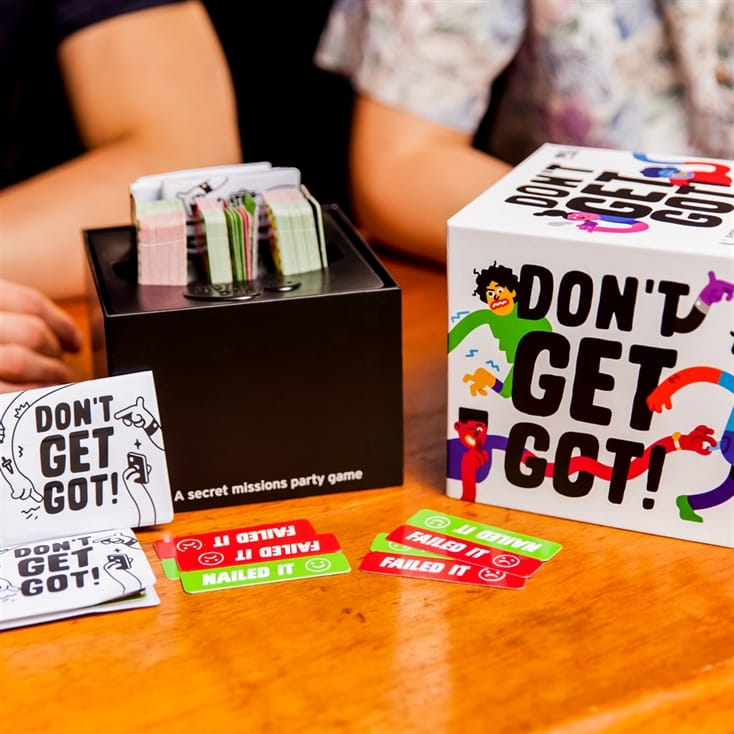 Don't Get Got - Secret Missions Party Game
