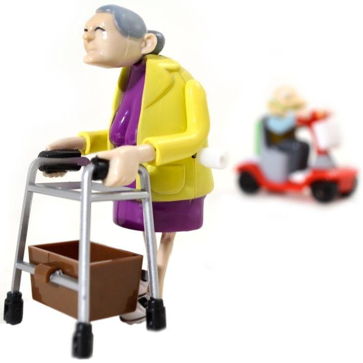 Racing Granny And Grandad Children Kids Toy Present Christmas Gift
