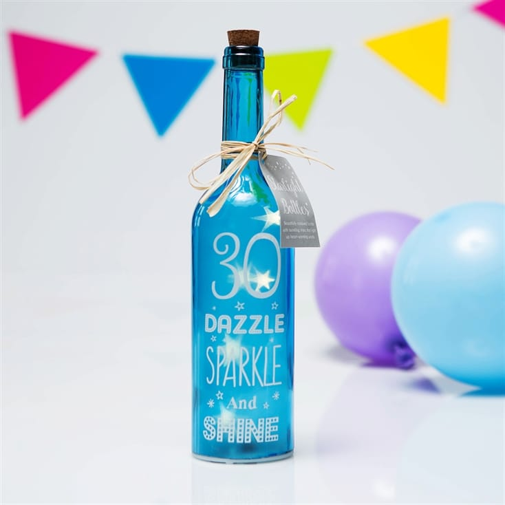 30th Birthday Starlight Bottle