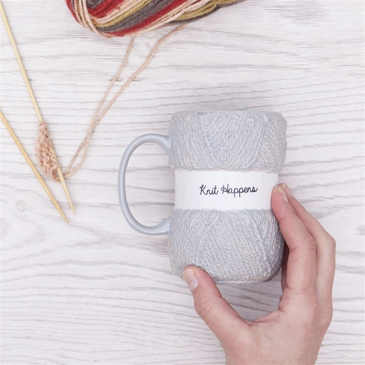Knit Happens Knitting Mug