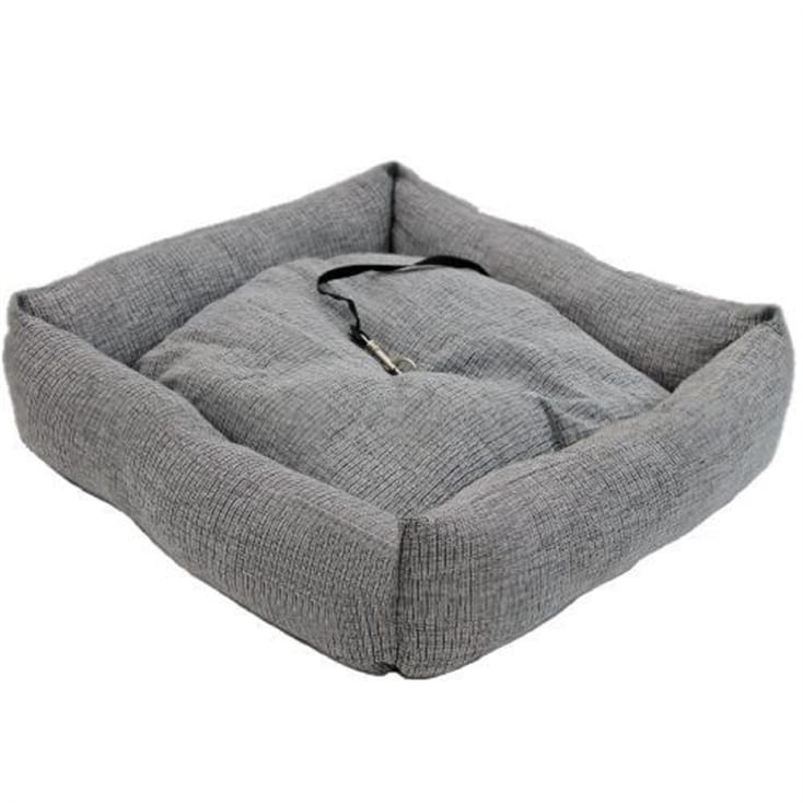 Personalised Pet Travel Bed With Belt