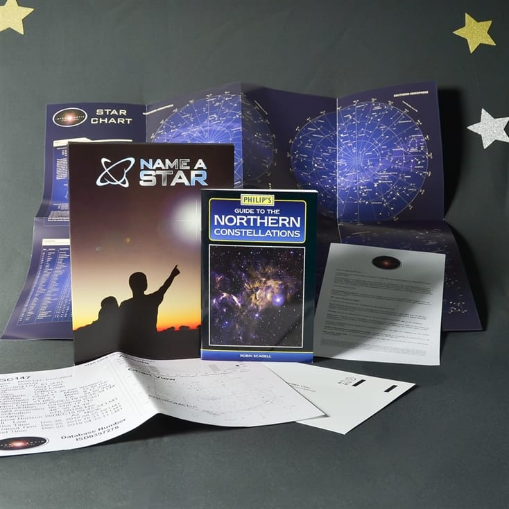 Name A Star Gift Box with Optional Personalisationx