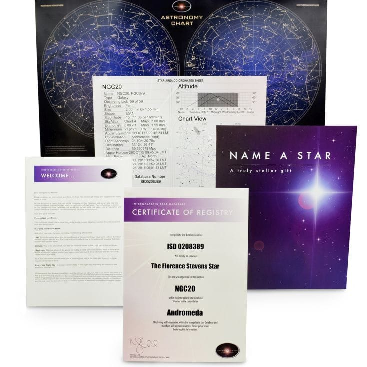 Name A Star Gift Set | Find Me A Gift