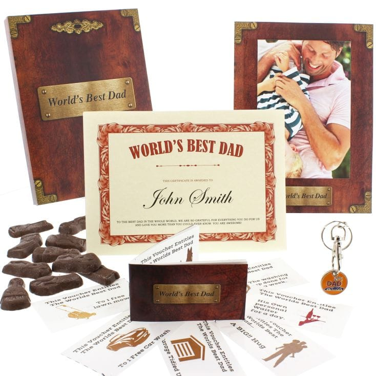 World's Best Dad Gift Box