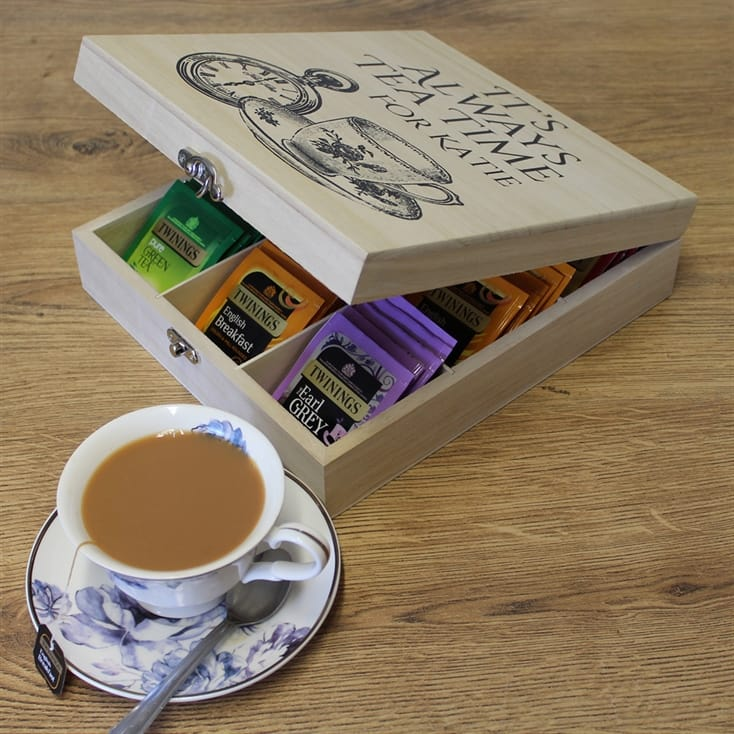 Personalised Twinings Tea Box