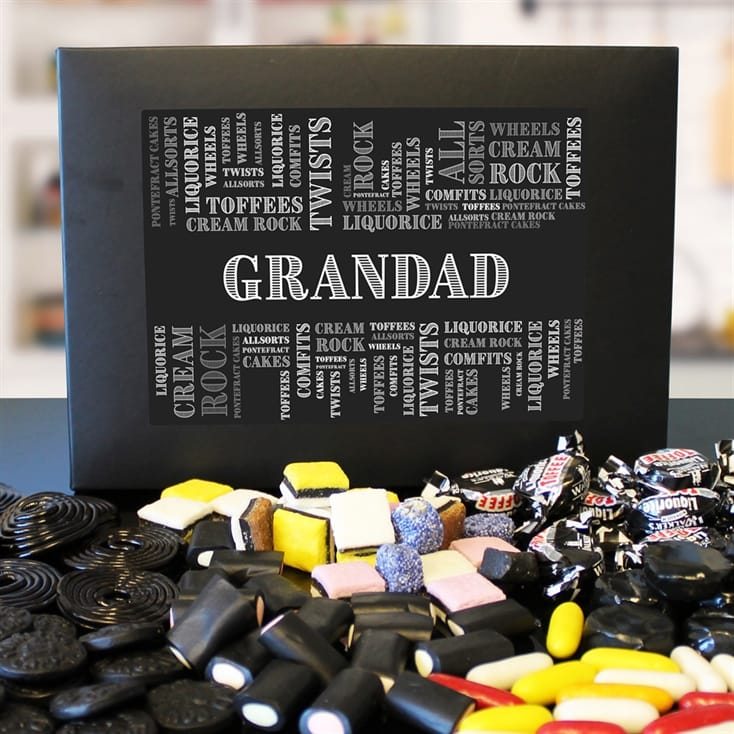 Personalised Liquorice Sweet Box