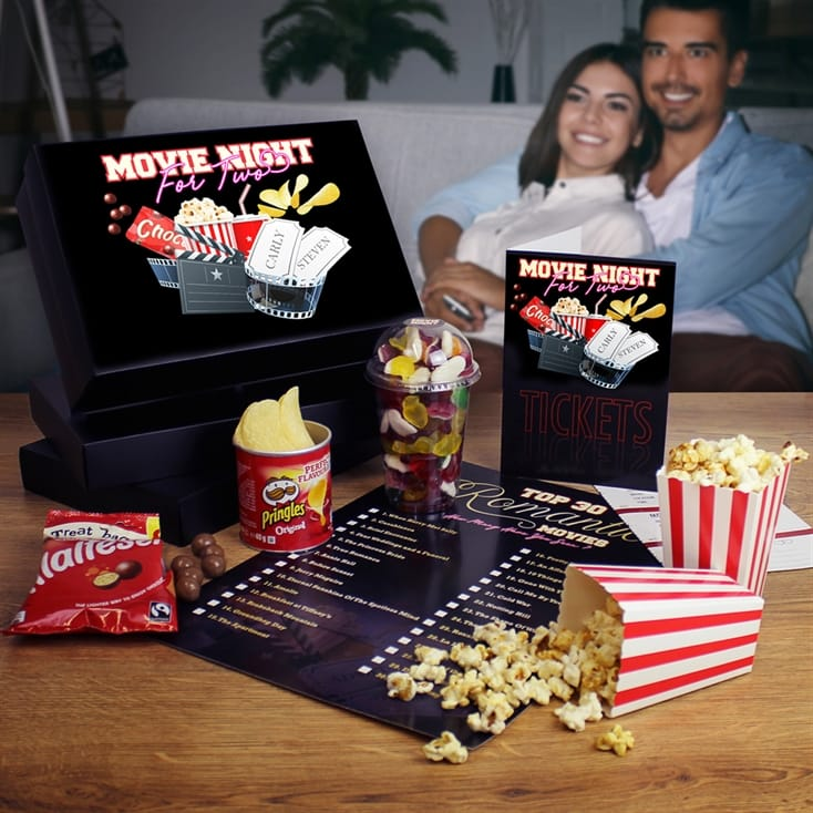 Movie Night For Two Gift Box
