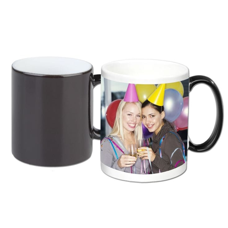 Personalised Heat Change Magic Mug