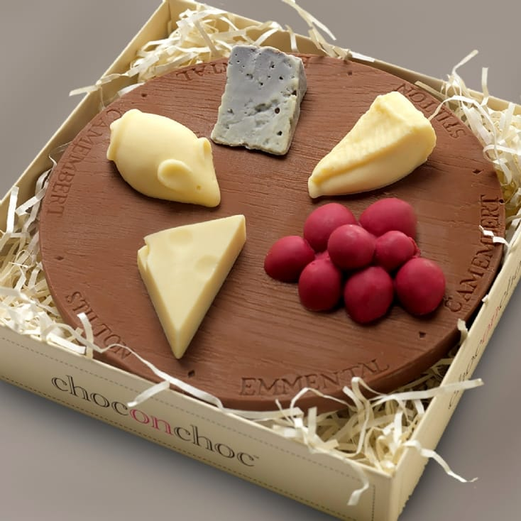 Mini Chocolate Cheese Board
