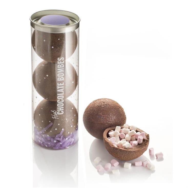Luxury Hot Chocolate Bombes