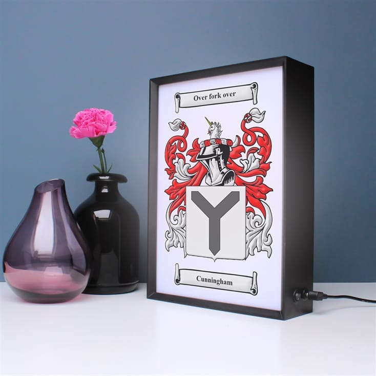 Personalised Coat of Arms Surname Lightbox