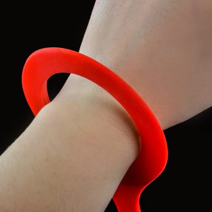 Large Red Adult Handcuffs