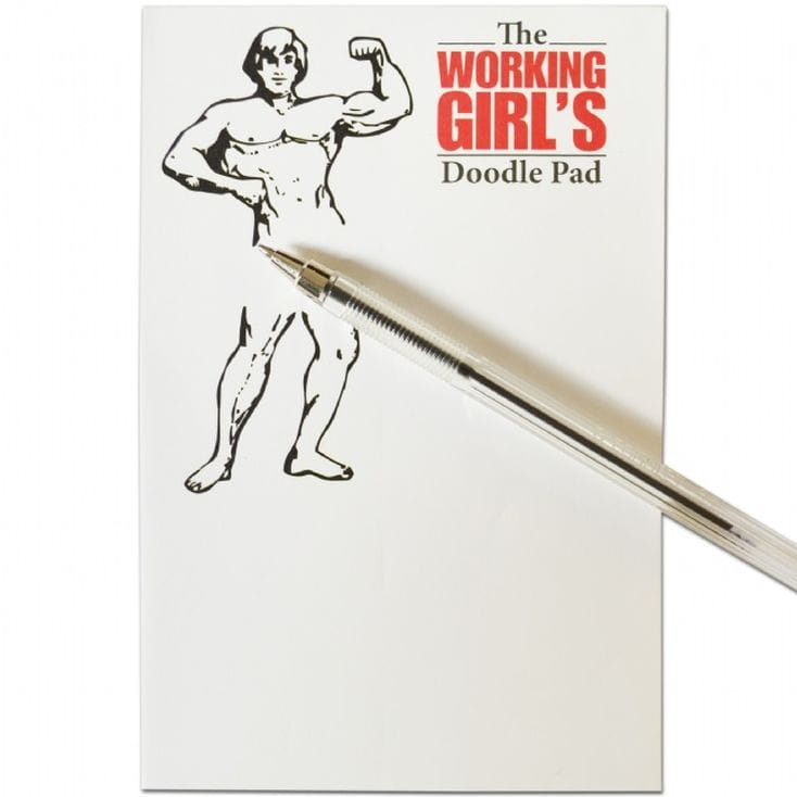 Working Girls Doodle Pad