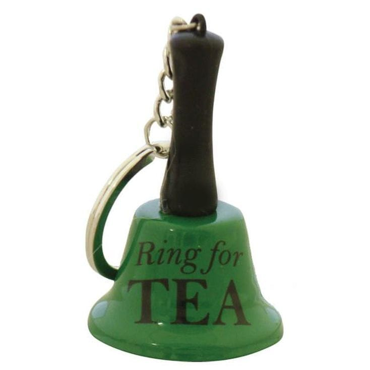 Ring For Tea Bell Keychain
