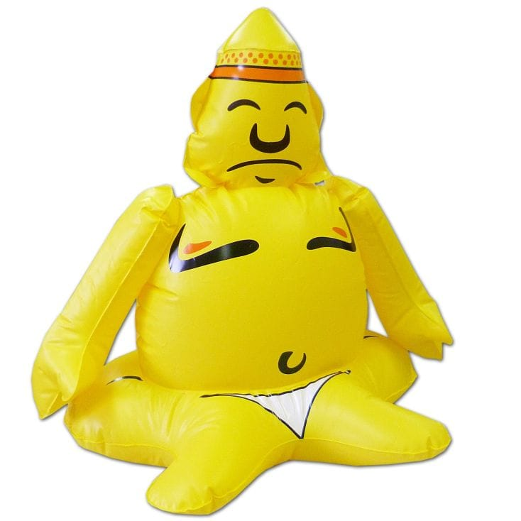 Inflatable Buddha
