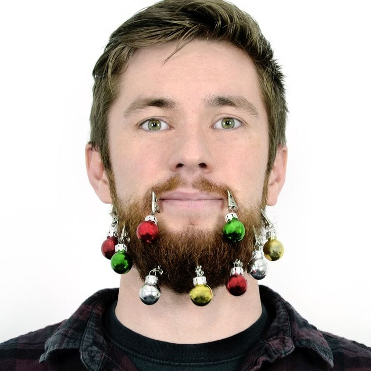 Beard Christmas Baubles