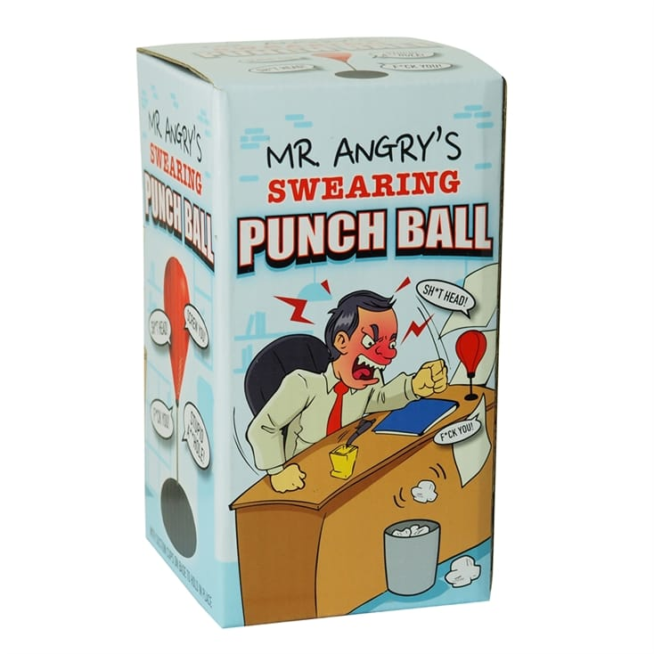 Mr Angry's Swearing Punch Ball