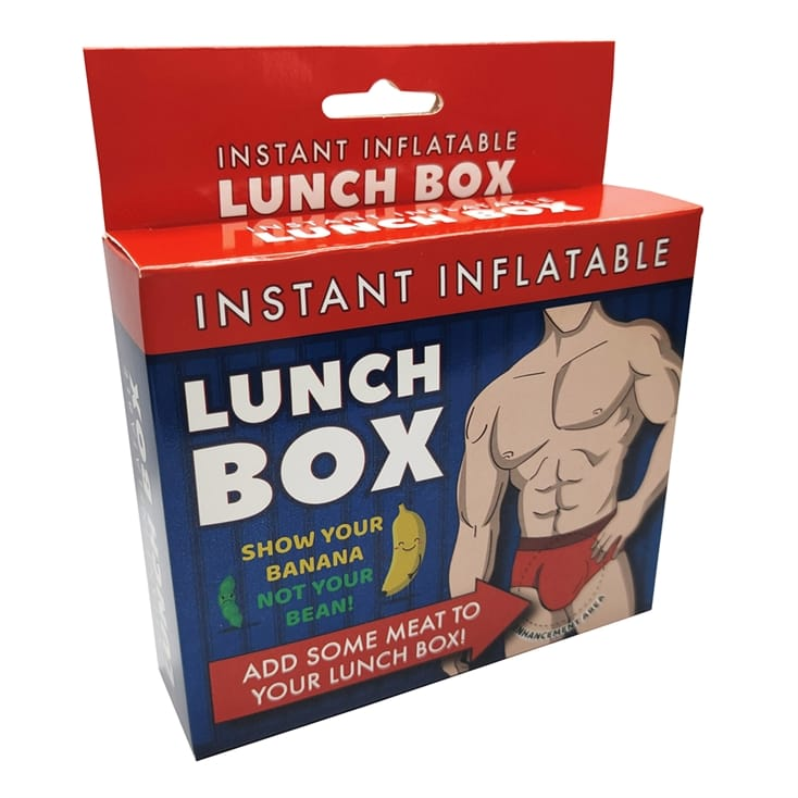 Instant Inflatable Penis Lunch Box