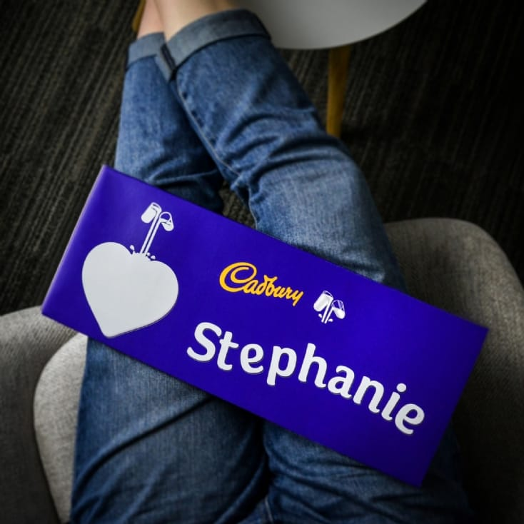 Personalised Cadbury Dairy Milk Bar