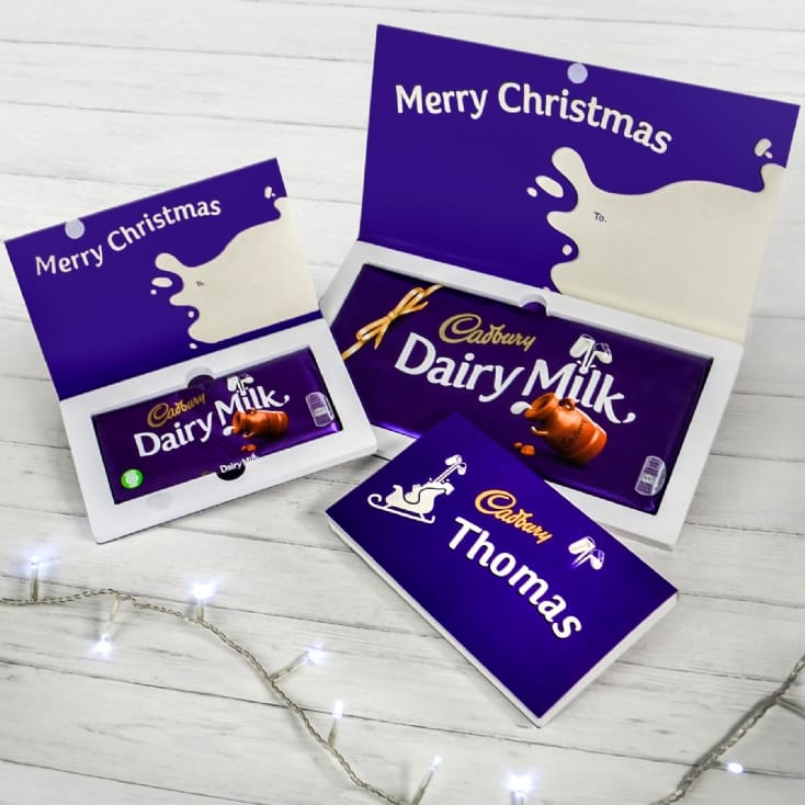 Cadbury Chocolate Christmas Cards