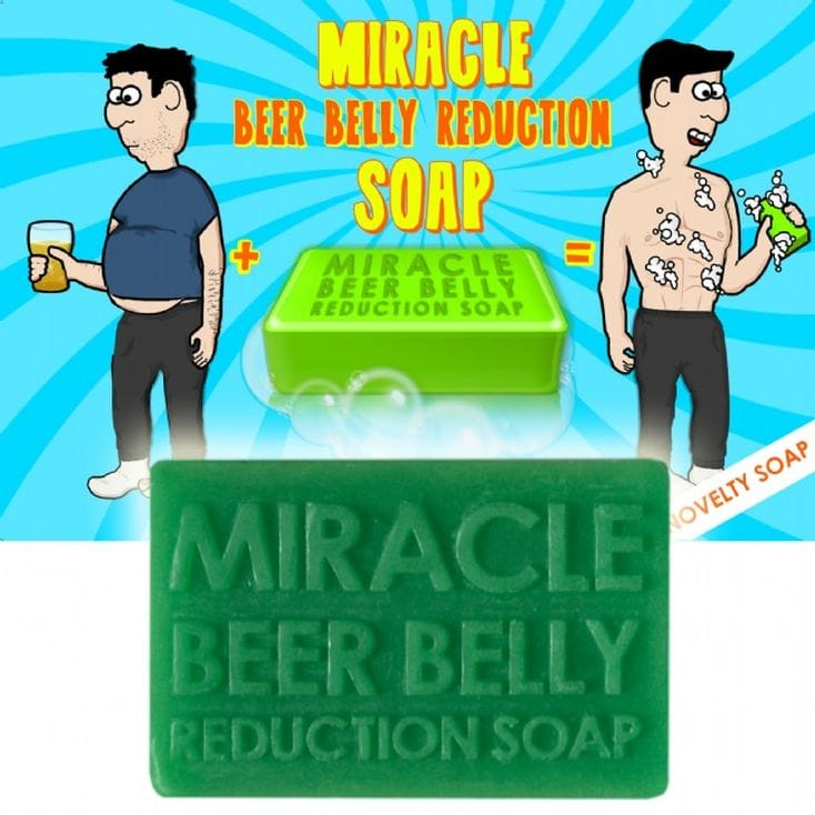 Beer Belly Reduction Soap