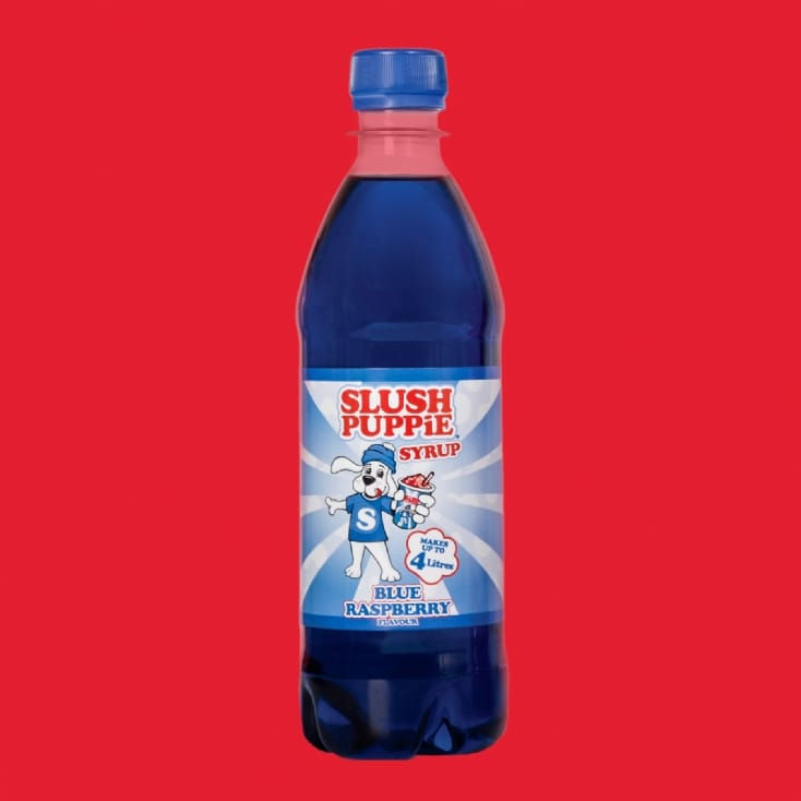 Blue Raspberry Slush Puppie Syrup