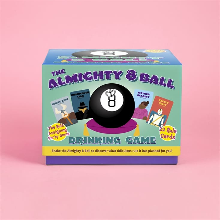 Almighty 8 Ball Drinking Game