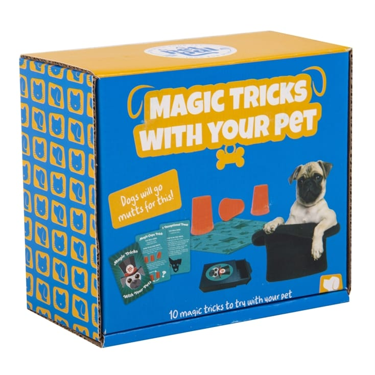 Magic Tricks With Your Pet