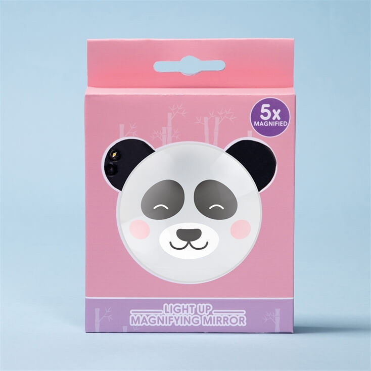 Panda Light Up Compact Mirror