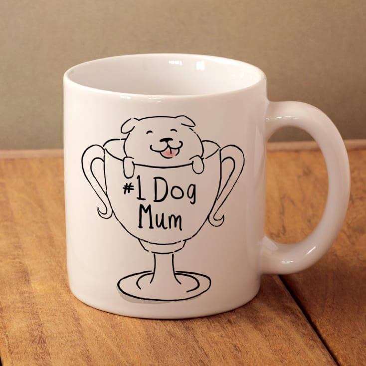 No 1 Dog Mum Mug