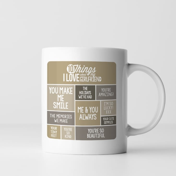 10 Things I Love About My Girlfriend Mug