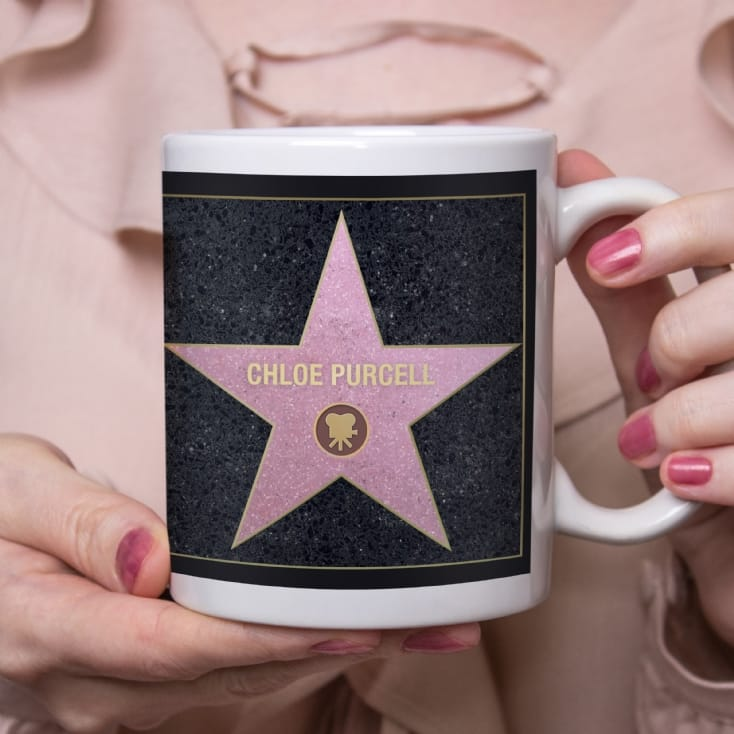 Personalised Walk of Stars Mug