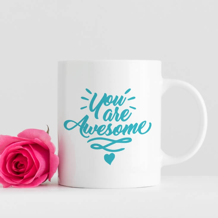 Personalised Inspirational and Motivational Mugs
