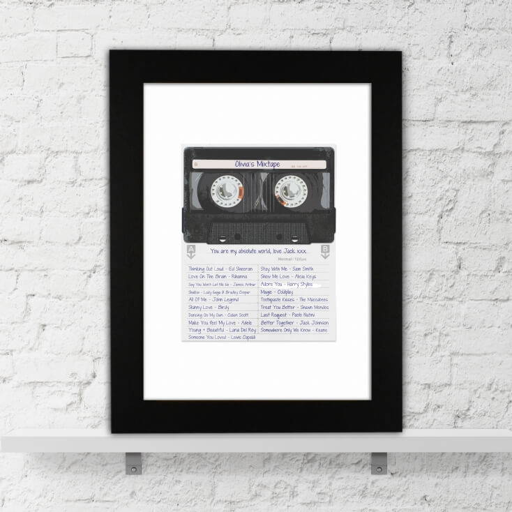 Personalised Mixtape Poster