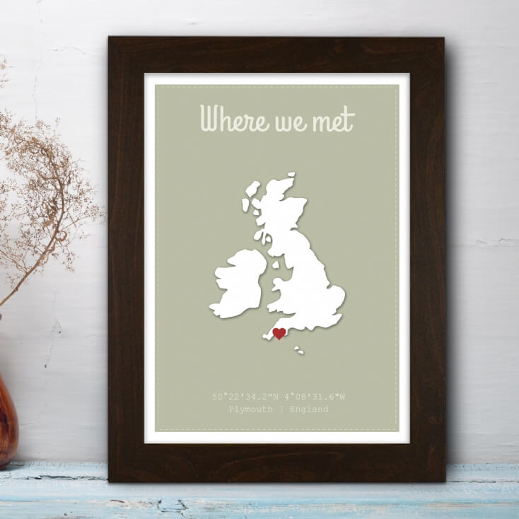 Where We Met Poster