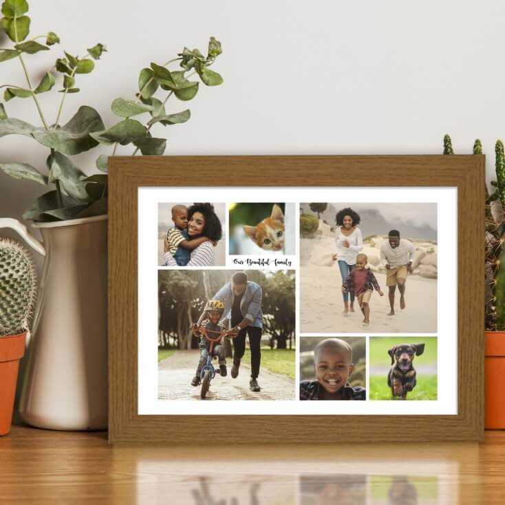 Personalised Multi-Photo Collage Print
