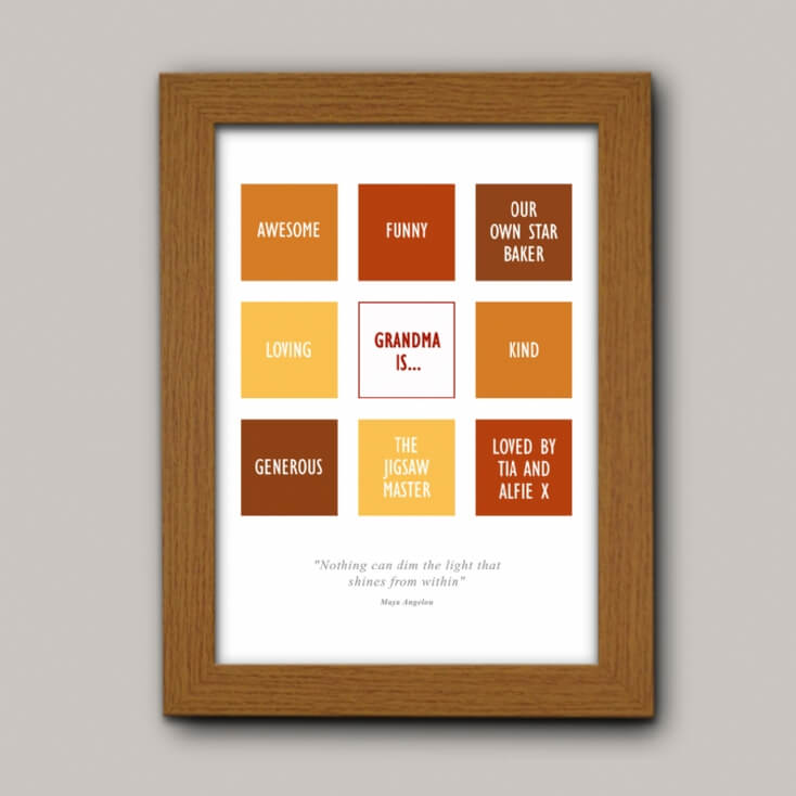 Personalised Affirmation Print