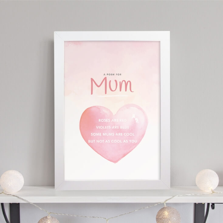 Personalised Poem for Mum Print