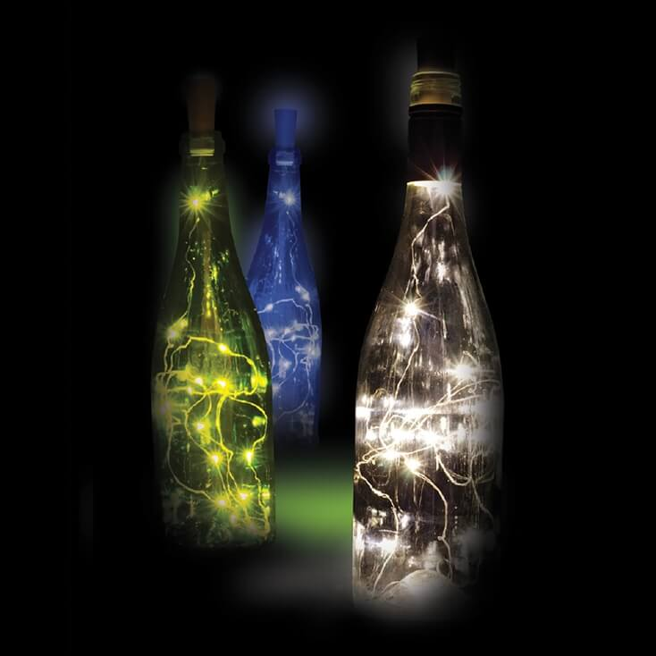 Wine Bottle Glow Lights