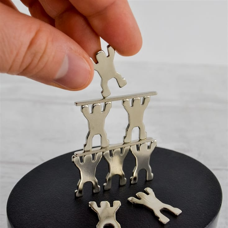 Magnetic Figure Stacking Game