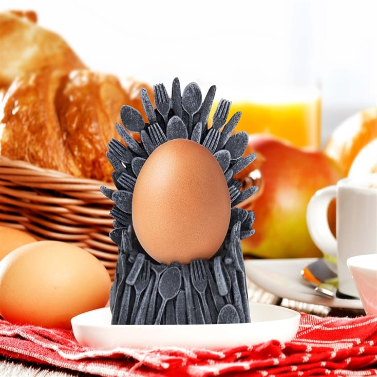 Game of Spoons Egg Cup Holder