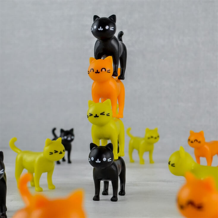 Catastrophe Stacking Cats Game