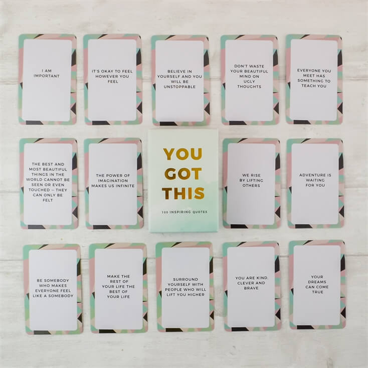 You Got This Inspirational Pack of Cards
