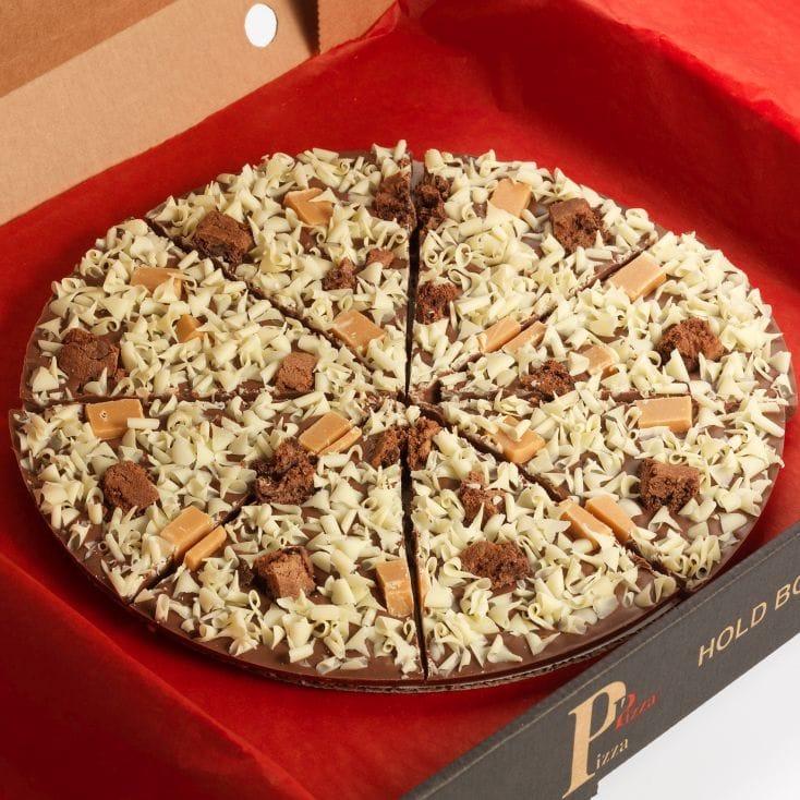 Chocolate Pizza - Crunchy Munchy