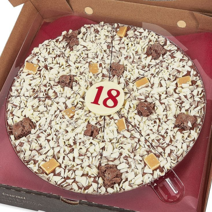 18th Birthday Chocolate Pizza