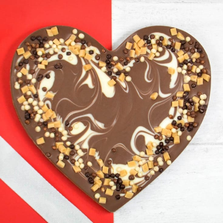 Gourmet Chocolate Smash Heart