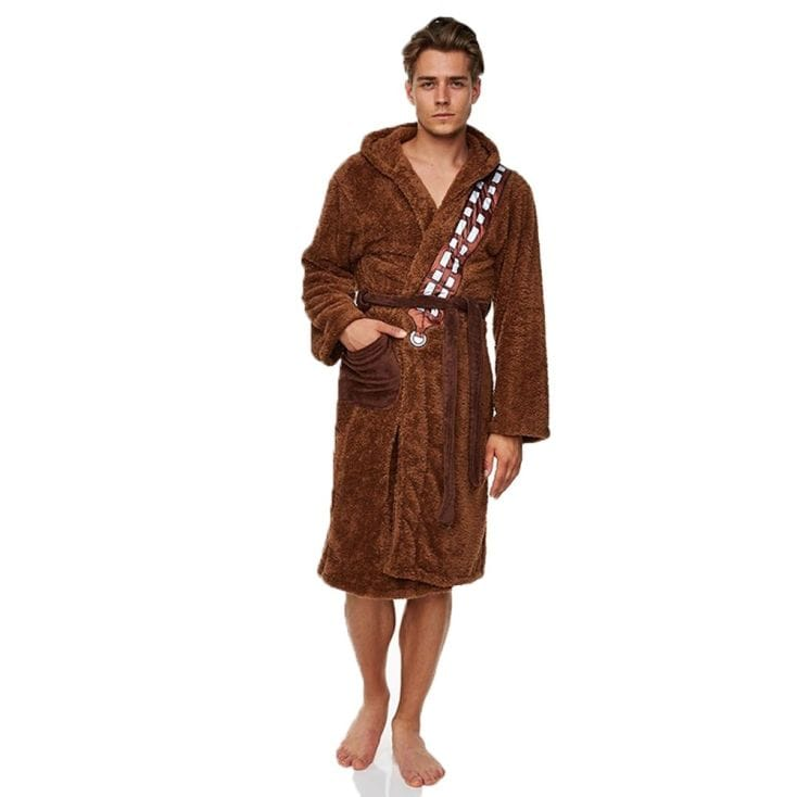 star wars bath robe chewbacca